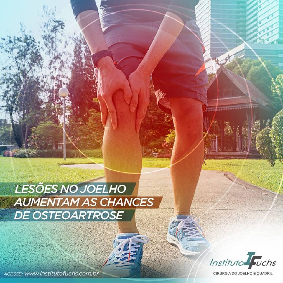 Lesões no joelho aumentam as chances de osteoartrose
