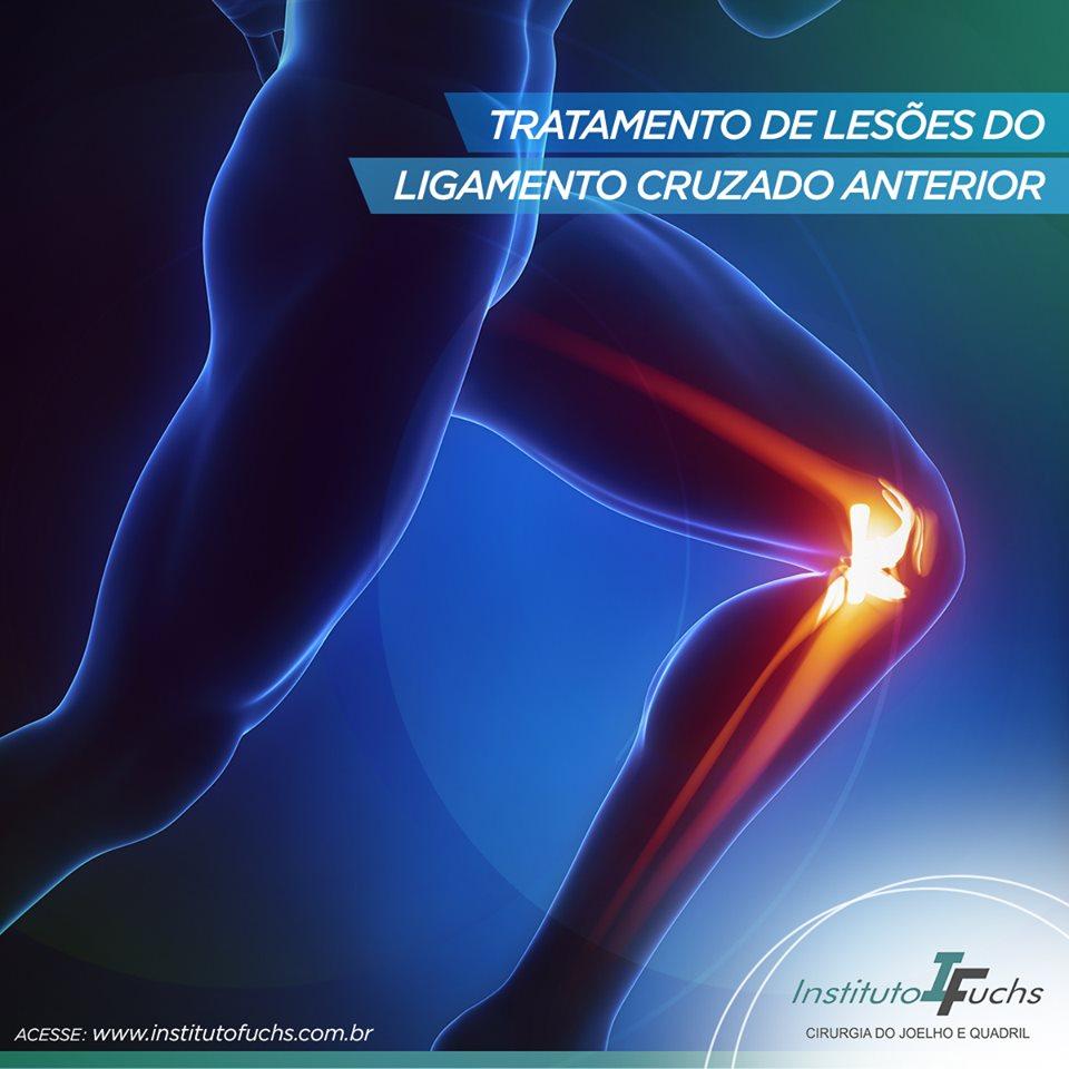 Tratamentos de lesões do ligamento cruzado anterior
