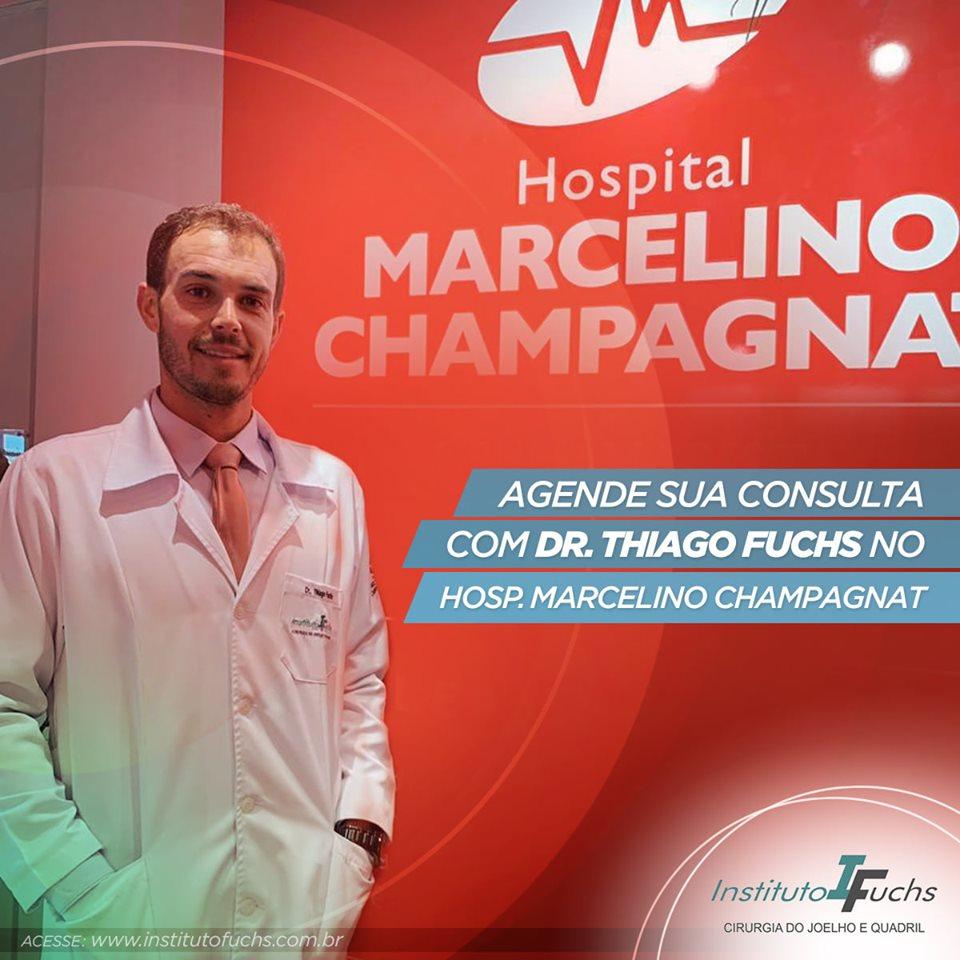 Agende sua consulta com Dr. Thiago Fuchs no Hospital Marcelino Champagnat
