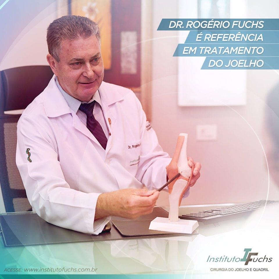 Dr. Rogério Fuchs é referência em tratamento do joelho