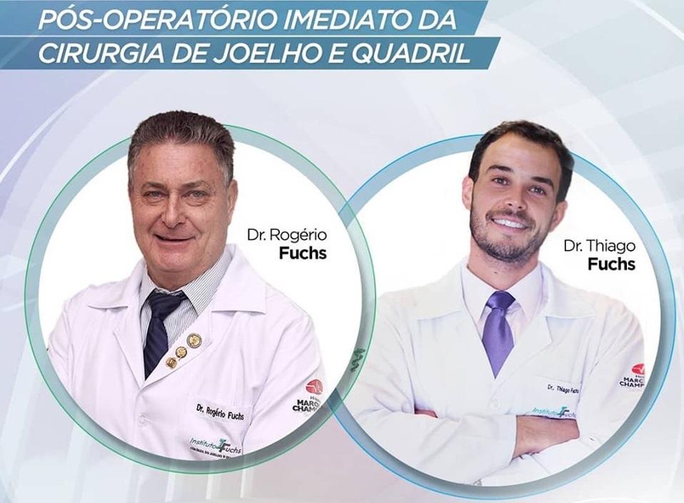 LIVE: Pós-operatório imediato de cirurgia do joelho e quadril