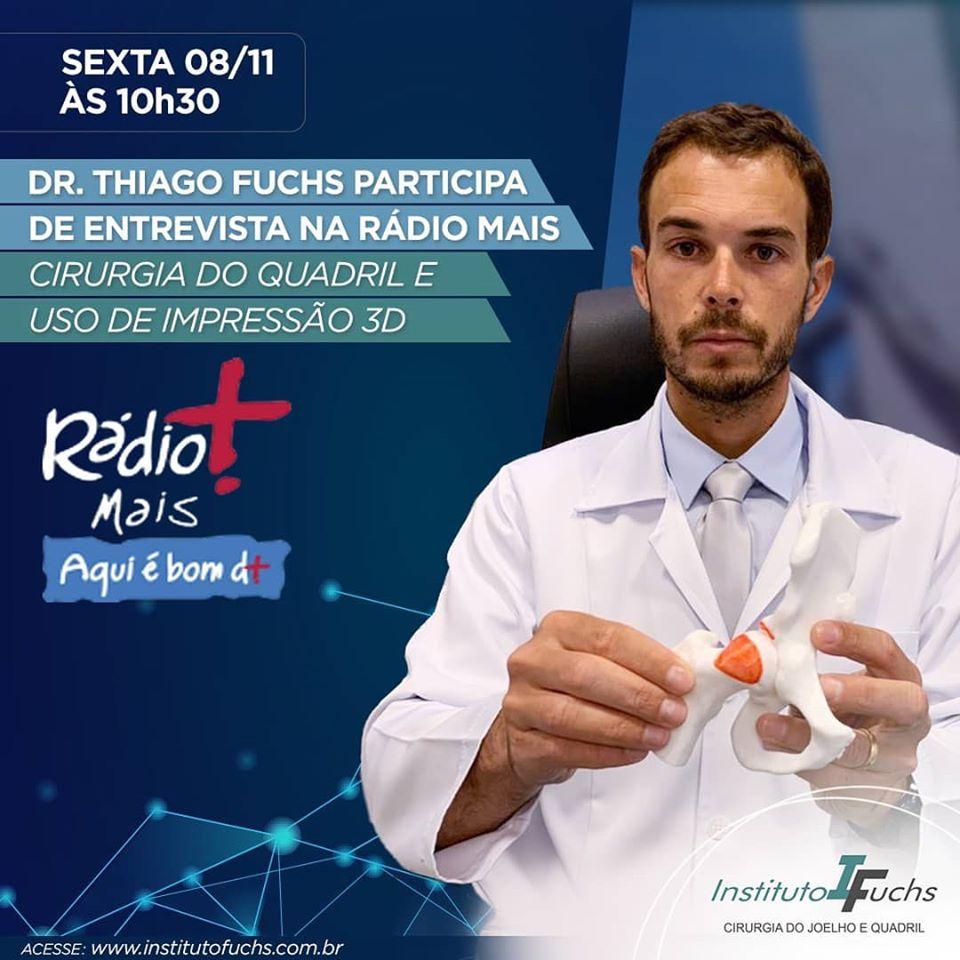 ENTREVISTA: Dr. Thiago Fuchs na Rádio Mais