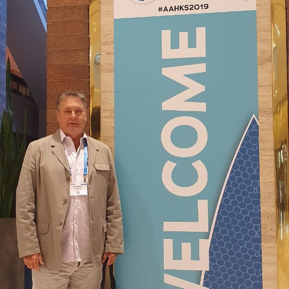 Participação no Congresso da American Association of Hip and Knee Surgeons