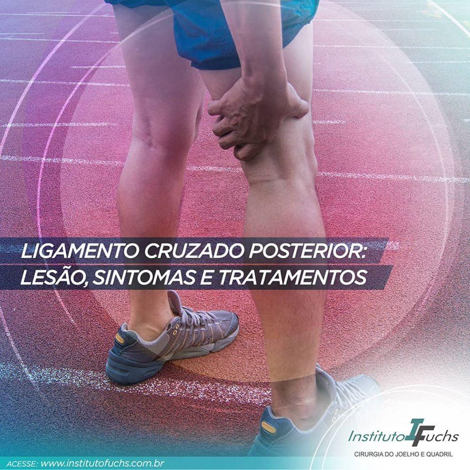 Ligamento Cruzado Posterior (LCP): Lesão, sintomas e tratamento