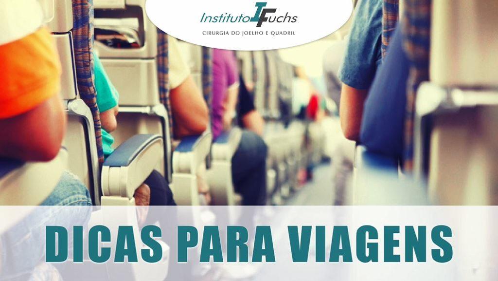VÍDEO: Dicas para evitar desconfortos do quadril e joelho em viagens