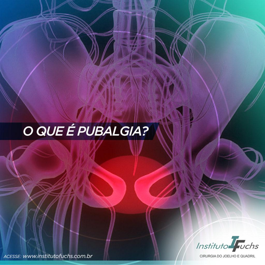 O que é pubalgia?