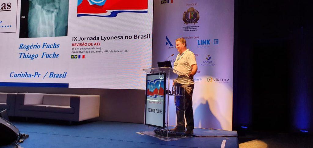 Dr. Rogério Fuchs é organizador e palestrante da IX Jornada Lyonesa no Brasil