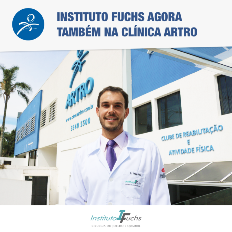 Instituto Fuchs agora também está na Clínica Artro