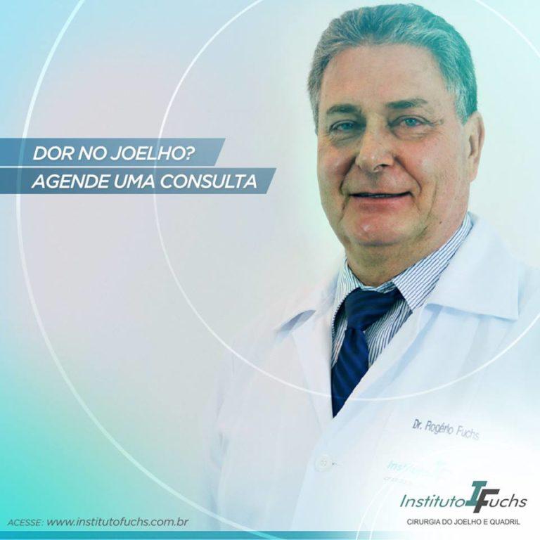 Dr. Rogério Fuchs é referência no tratamento do joelho